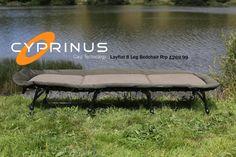 Tackle Discounts NEW! Cyprinus Lay Flat 8 Leg Lightweight Carp Camp Bed Fishing Bedchair RRP £270 Tackle Discounts NASH NEW Carp Fishing Frostbite + Sub 20 Wideboy Sleeping Bag Tackle Discounts Tra...