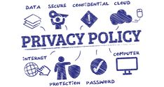 STOP What You Are Doing and Implement a Privacy and Cookie Policy! Website Security, Law Books, Computer Internet, Data Protection, Privacy Policy, Concept, Doodle, Sketches, Advice