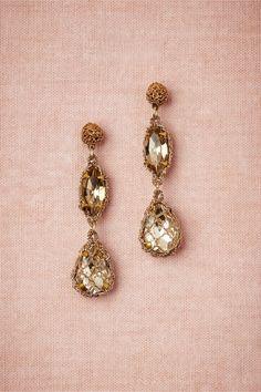 Demure Sparkle Earrings in Bridal Party & Guests Bridesmaids Jewelry at BHLDN