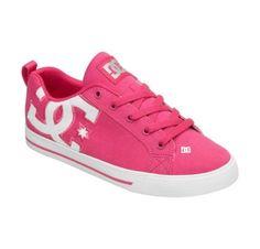 DC Shoes Womens Court Graffik Vulc TX Womens Sneakers Pink footwear rob dyrdek