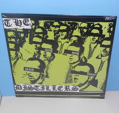 the DISTILLERS sing sing death house Lp Record Vinyl SEALED hellcat records #PostRock