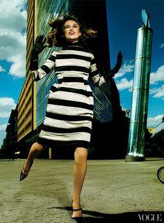 Keira Knightley photographed by Mario Testino, Vogue, September 2008.