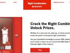 State Farm Right Combination Sweepstakes
