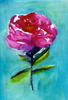 Hey, I found this really awesome Etsy listing at https://www.etsy.com/listing/200941180/35-off-sale-peony-watercolor-painting