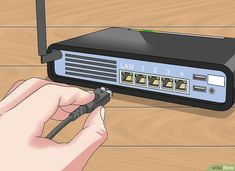 How to Connect Two Routers. This wikiHow teaches you how to connect two routers together. By connecting your routers, you can extend both the range and the maximum number of connections that your Internet can handle. Computer Router, Best Wifi Router, Internet Router, Computer Help, Computer Internet, Wireless Router, Internet Setup, Computer Tips, Web Browser