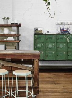 Huntly's Urban Wharehouse Workspace in Melbourne