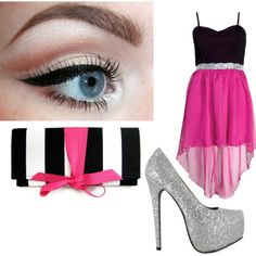 Polyvore Outfits for Teen Girls | Cute outfit for a teenage girl for a school dance - Polyvore