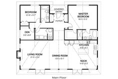 Great In-Law Home  pinebluff-floor-plan