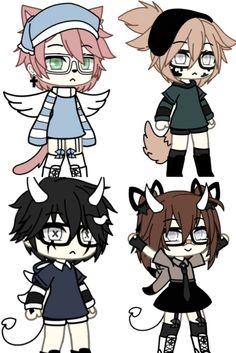 Cartoon Girl Drawing, Anime Girl Drawings, Kawaii Drawings, Cute Drawings, Anime Angel Girl, Anime Wolf Girl, Character Outfits, Cute Anime Character, Spongebob Pics