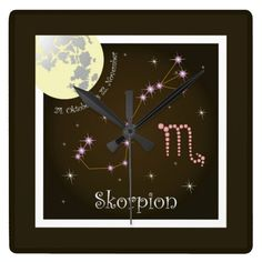 Skorpion 24. Oktober bis 22. November Uhr
