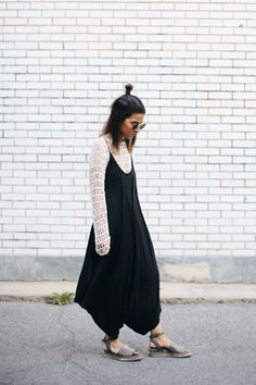 Turning summer dresses into fall layers