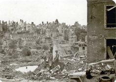 Saint Lo, France - Ruins. Wwii, Air Force, Places To Go, France, History, Fisher, Painting, Group, Art