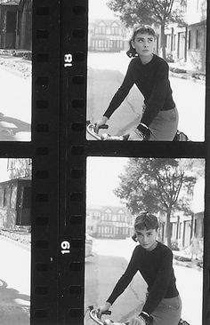 """missingaudrey: """"negatives of Audrey Hepburn photographed by Mark Shaw during the production of """"Sabrina"""" in 1953 """" Audrey Hepburn Wallpaper, Audrey Hepburn Photos, Polaroid Frame, Polaroids, Instagram Frame, Joelle, Photocollage, Actors, Belle Photo"""
