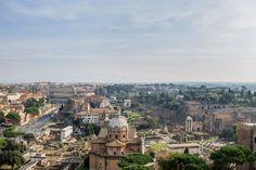 View from Vittoriano / Вид с Витториано  Что посмотреть в Риме за три дня?
