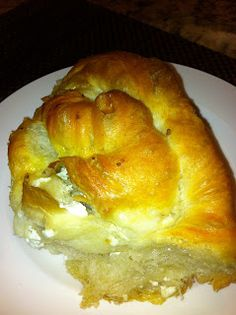 Tutmanik/Bulgarian cheese bread