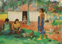 Why are you angry?, Paul Gauguin, 1896