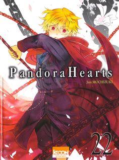 Volume Cover : Oz Vessalius Pandora Hearts : Original Artwork