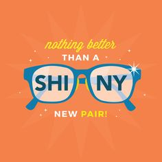 There really is something about new glasses that makes the world seem shiny and bright!  Come visit us and see our new frames and frame lines!  #ZionsvilleEyecare