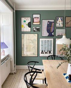 Dining Room Walls, Living Room, Norwegian House, Deco Restaurant, Scandinavian Home, Inspired Homes, Cheap Home Decor, Entryway Decor, Decoration