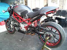 Custom Ducati Monster   2007 Ducati Monster S4R Custom