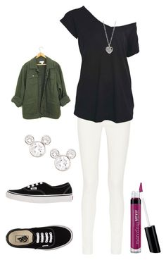 """""""Untitled #95"""" by gail-eickenroth on Polyvore featuring The Row, Vans, Bare Escentuals, Disney and Finn"""