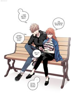 Anime Couples Sougo Okita x Kagura [OkiKagu], Gintama - Anime Love Couple, Cute Anime Couples, Okikagu Doujinshi, Anime Hairstyles Male, Gintama, Kawaii Chibi, Cute Comics, Princess Drawings, Manga Drawing
