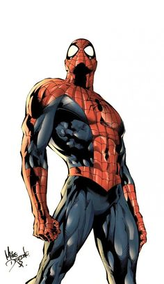 Spider-Man by Mike Deodato Jr. colored by Alzir For more info on Mike Deodato Jr. Comic Art Community GALLERY OF COMIC ART Marvel Comics, Bd Comics, Marvel Art, Marvel Heroes, Captain Marvel, Comic Book Characters, Comic Book Heroes, Marvel Characters, Comic Character