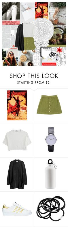 """i'd rather be a riot than indifferent"" by same-sunset ❤ liked on Polyvore featuring GET LOST, American Apparel, Hope, adidas, H&M, bedroom and nicolewantstoseethis"