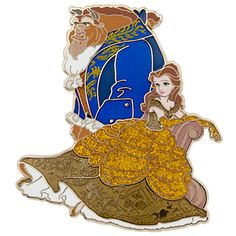 Belle & the Beast - Fairytale Designer Collection Limited Edition Pin Set (by DisneyStore)