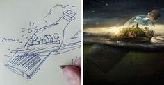 Photoshop Genius Erik Johansson Shows How His Mind-Bending Pics Are Born | Bored Panda