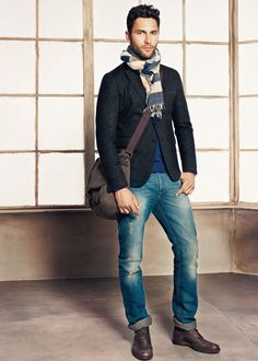 Legends of the Fall | Noah Mills for H.E. by Mango Fall/Winter 2012 Lookbook