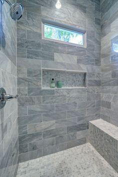 Master Shower #modernarchitecturebathroom