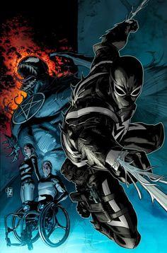 Agent Venom by Patrick Zircher, colours by Marte Garcia *