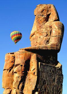 Colossi of Memnon Statue of Amenhotep III