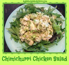 Chicken Salad (No Mayo Involved!)  www.aunaturalenutrition.com
