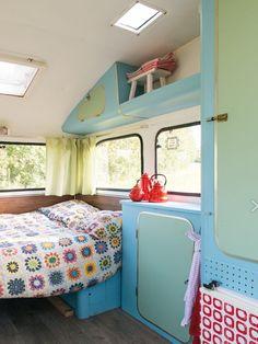 Je caravan snel verven?Dat kan met:  Vintage Paint uit Denemarken…