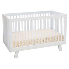Babyletto Hudson 3 in 1 Convertible Crib Collection - Your child is never too young to enjoy the appealing modern style that's on display in the Babyletto Hudson 3-in-1 Convertible Crib. Rounded spind...