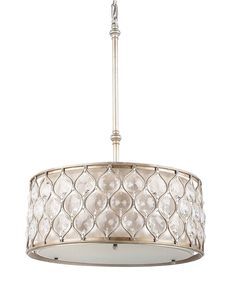 Murray Feiss Chandelier, Lucia Collection Crystal Oval Pendant - Shop All Lighting - for the home - Macy's
