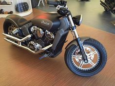 Indian scout motorcycle 2015 custom
