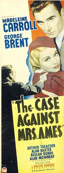 The Case Against Mrs. Ames 1936