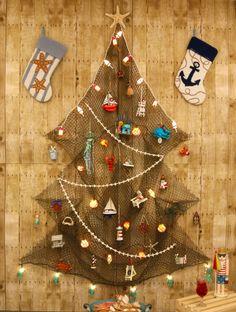 Fishing Net Coastal Christmas Tree