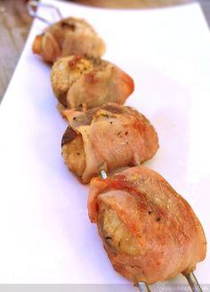 Heute kommen gepimpte Champignons gefüllt mit Feta und Speck auf den Grill   Feinschmeckerle. KOCHEN. ESSEN. ENTDECKEN.   Bloglovin'