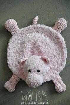 Crochet Baby Toys, Crochet Bear, Crochet Animals, Crochet Dolls, Crochet Patterns Amigurumi, Animal Rug, Expecting Mom Gifts, Baby Lovey, Baby Box