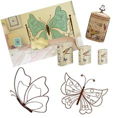 Decoração com Borboletas para o Quarto: http://www.blogtanamoda.com/2017/03/decoracao-com-borboletas-para-o-quarto.html