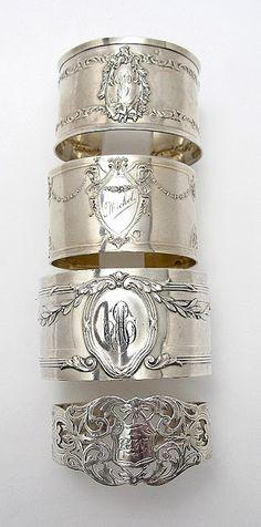 Antique Napkin Rings.