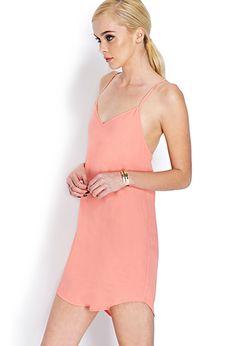 Flirty V-Neck Dress | FOREVER 21 - 2000071788