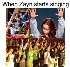 When all the boys are singing..,
