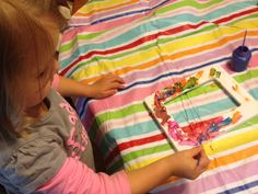 Easy Father's Day Craft For Kids To Make & Give. Craft for kids. #paint-frame-diy#