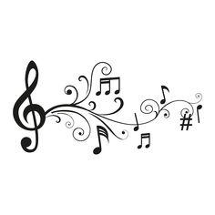 Musical note add-on idea machine silhouette portrait, line art, music drawi Music Tattoo Designs, Music Tattoos, Tatoos, Music Designs, Machine Silhouette Portrait, Musik Illustration, Music Drawings, Music Quotes, I Tattoo