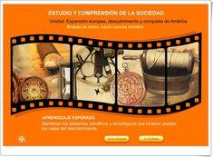 """""""Brújula en mano, hacia nuevos mundos"""" Movie Posters, Socialism, World, Interactive Activities, Science Area, Social Science, Learning, October, Film Poster"""